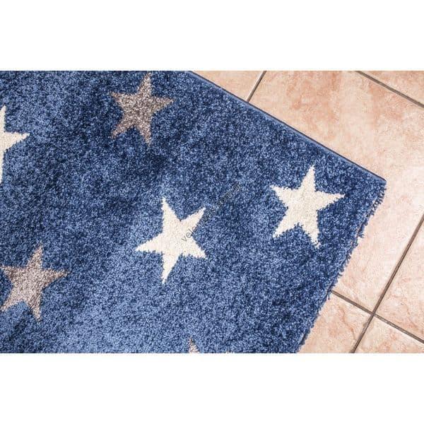Μοκέτα Βελουτέ Lollipops Stars Μπλε ... 79d21bc1e0c