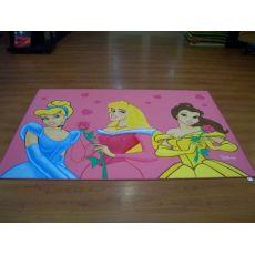 Παιδικό Χαλί Disney Πριγκίπισσες P2