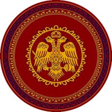 Εκκλησιαστικό χαλί 426 Red Round