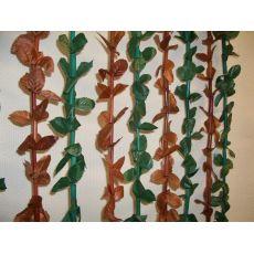 Κουρτίνα Πόρτας Χαβάη Πράσινο - Καφέ