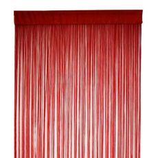 Κουρτίνα Πόρτας Decor Cordon Κόκκινο μπορντώ