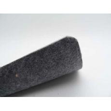 Πλαστικό Δάπεδο Plain Anthracite 2.00mm