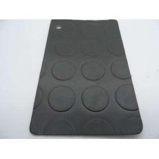 Πλαστικό Δάπεδο Coins Τάπα Anthracite 2.00mm