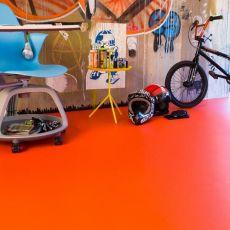 Πλαστικό Δάπεδο Blush 566 Orange