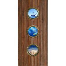 Φωτοταπετσαρία Πόρτας Ship Door FT V 1516