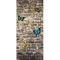 Φωτοταπετσαρία Πόρτας Stone Wall FT V 1519