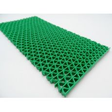 Αντιλιοσθητικό δάπεδο PVC Zig Zag Green