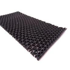 Αντιλιοσθητικό δάπεδο για πισίνα PVC Zig Zag Black Φάρδος 1,20m