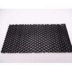 Αντιλιοσθητικό δάπεδο PVC Zig Zag Black