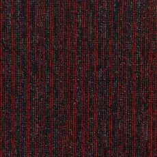 Μοκέτα Πλακάκι Solid Stripes 120 Red
