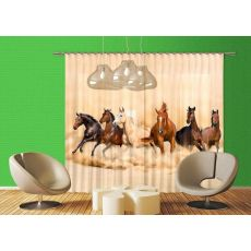 Φωτοκουρτίνα Wild Horses XXL 4422 2,80m x 2,45m