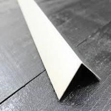 Πλαστική γωνία Λευκή