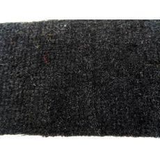 Μοκέτα Αυτοκινήτου μαύρη με υπόστρωμα Λάστιχο