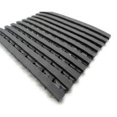 Αντιλιοσθητικό δάπεδο Crossmat Γκρι Φάρδος 1,20m