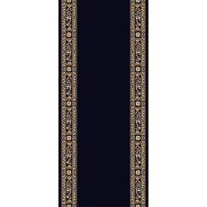 Εκκλησιαστικός Διάδρομος με μπορντούρα σε μαύρο χρώμα