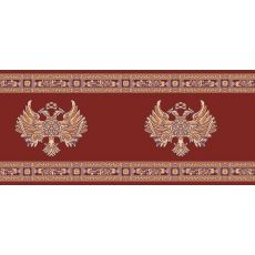 Εκκλησιαστικός Διάδρομος με Ρώσικο Αετό Κόκκινος Οριζόντιος