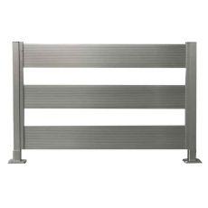 Κολώνα Αλουμινίου για Deck περίφραξης 40 x 40 Ενισχυμένη