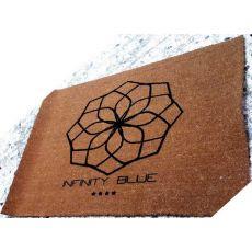 Ταπέτο κοκοφοίνικα με Λογότυπο 20mm