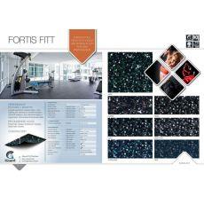 Αθλητικό Δάπεδο Grabo Fortis Fitt Rosa