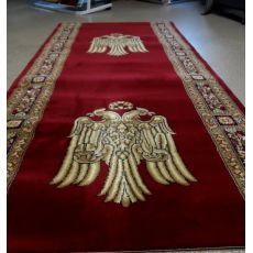 Εκκλησιαστικός Διάδρομος με Αετό κλειστά φτερά κόκκινος