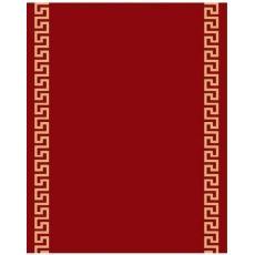 Εκκλησιαστικός διάδρομος κόκκινος με χρυσό μαίανδρο