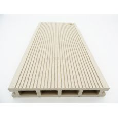 Πάτωμα Σανίδα Deck WPC 130 White