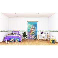 Παιδική Κουρτίνα Mulan and princess L 7160 1,40m x 2,45m