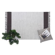 Χαλι Urban Cotton Kilim Flitter Black Royal Carpet
