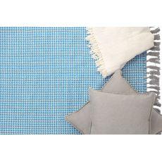 Χαλι Urban Cotton Kilim Houndstooth Caribbean Sea - Royal Carpet