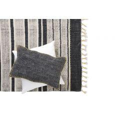 Διακοσμητικό μαξιλάρι Lotus Cot Black (30x50) Soulworks 0610002