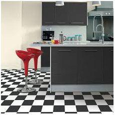 Βινυλικό Δάπεδο Tarkett Iconik 260 Echiquier 2 Black White Σκακιέρα