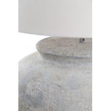 Επιτραπέζιο Φωτιστικό Zimp (60x60x50) Cream GRC Soulworks 0630002