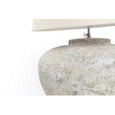 Επιτραπέζιο Φωτιστικό Zimp (35x35x30) White Clay/Tera Soulworks 0630004