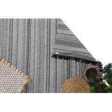 Χαλι Urban Cotton Kilim Samaira Black White -  Royal Carpet