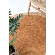 Ψάθινο χαλί Sombrero 482 581 Yellow Royal Carpet