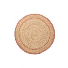 Ψάθινο χαλί Sombrero 483 520 Pink Royal Carpet