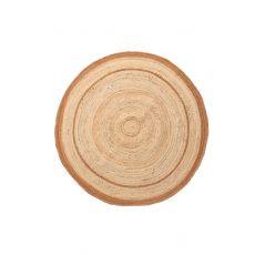 Ψάθινο χαλί Sombrero 483 581 Yellow Royal Carpet