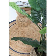 Ψάθινο χαλί Sombrero 483 590 Blue Royal Carpet