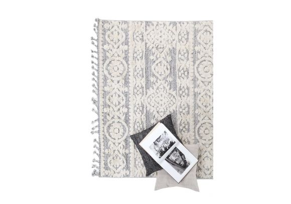 Xαλί La Casa 9925Α White L. Grey -  Royal Carpet