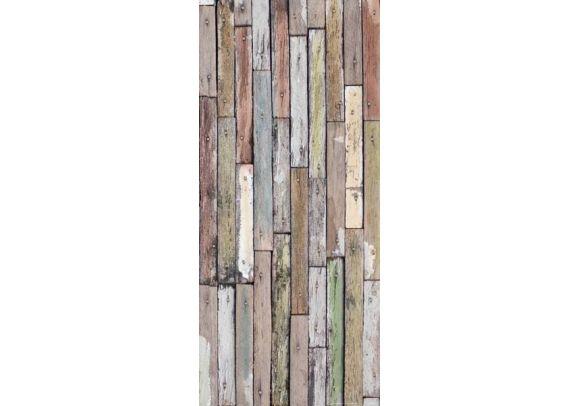 Φωτοταπετσαρία Πόρτας Wood FT V 1536