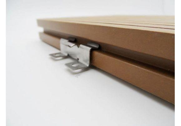 Ανοξείδωτο κλιπ ένωσης Deck