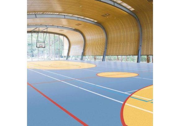 Αθλητικό Δάπεδο Gerflor Taraflex Sport M Dry-Tex 6830 Μαύρο