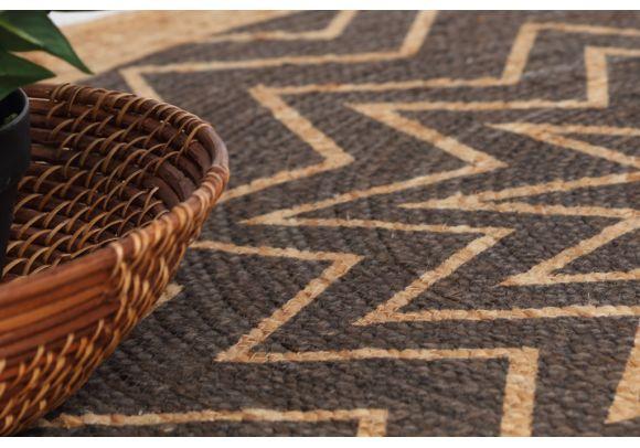 Ψάθινο χαλί Tonga 291 850 Royal Carpet