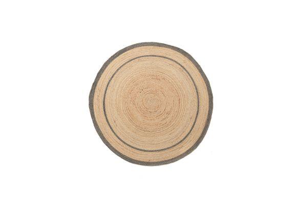 Ψάθινο χαλί Sombrero 483 576 Grey Royal Carpet