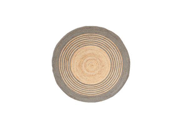 Ψάθινο χαλί Sombrero 484 573 Grey Royal Carpet