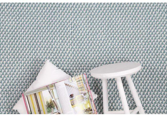 Χαλί Duppis OD2 White Blue -  Royal Carpet